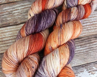 Isabel - Desert Skies - Hand Dyed Yarn - 75/25 Superwash Merino/Nylon