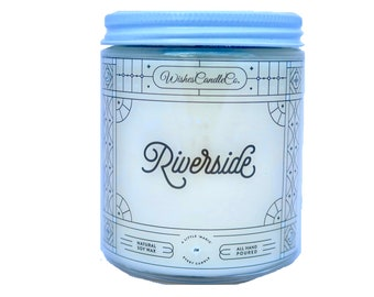 Riverside Candle With Free Pin Inside