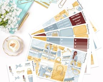 Girl Boss - Deluxe Weekly Kit   Erin Condren Vertical Life Planner Stickers