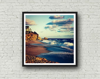 Laguna Beach Photography - DIGITAL DOWNLOAD - Laguna Beach California Beach Home Decor Printable Art Stock Photo for Bloggers