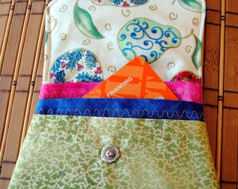 Fabric Credit Card/Cash Purse Holder/Wallet