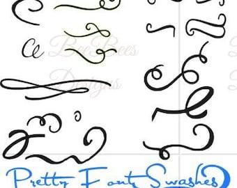 Font Swashes svg, font swashes , text swashes svg, text swashes