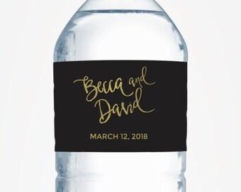 Water bottle labels wedding, water bottle lable, personalized water bottle labels for wedding, custom water bottle labels, welcome bag label