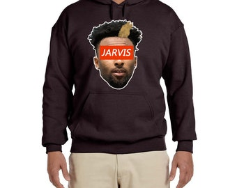 Jarvis Face High quality Hooded Sweatshirt