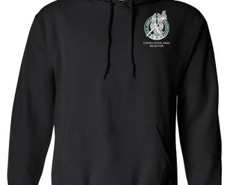 US Army Recruiter Embroidered Hooded Sweatshirt-7765