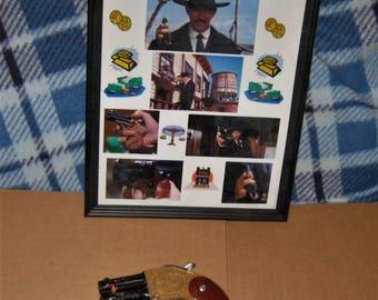 """Custom Lee Van Cleef """"Sabata"""" Cap Gun from Classic Western Movie."""