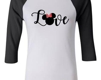 Women's Disney Minnie Mouse//Disney Shirts // Disney Family Shirts // Disney Vacation Shirts // Disney Cruise Shirts//Disney Matching Shirts