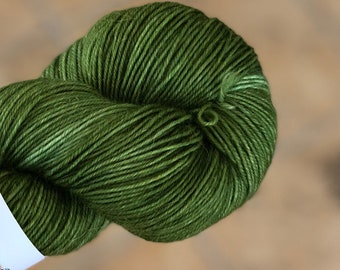 Variegated Hand Dyed Yarn-MR CARRISFORD-Fuzzy Toad-100 gram-55 sw merino/20 Kid Mohair/25 Nylon-438 yards-Toad Hollow Yarns-Indie Dyed Yarns