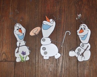 Olaf Cut Outs