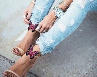 Butterfly- shoe clips