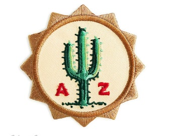 Sunny AZ : Embroidered Patch