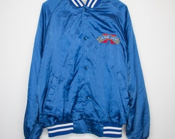 Alabama Jacket Vintage Coat 1992 June Jam Concert Windbreaker 1990s Southern Country Rock and Roll Band Music Gospel