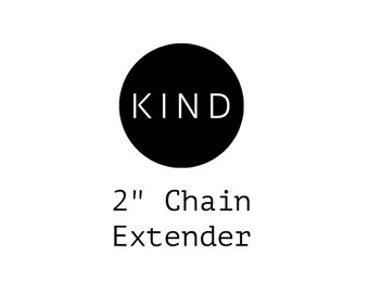 "2"" Chain Extender"