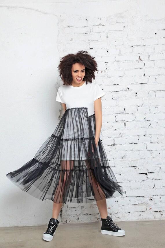 Avant Garde Dress Sheer Dress Sexy Dress See Through Dress