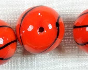 BF-154 Glass Basketball Beads