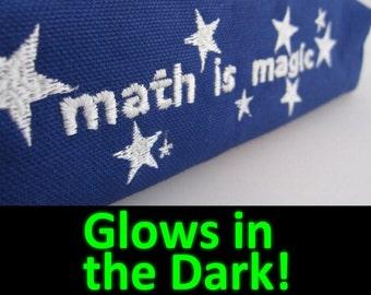 Math is Magic - Zippered Pencil Pouch