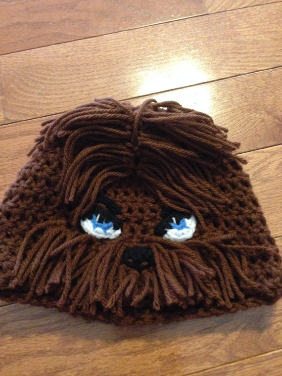 Items Similar To Chewbacca Beanie Chewbacca Hat Chewy
