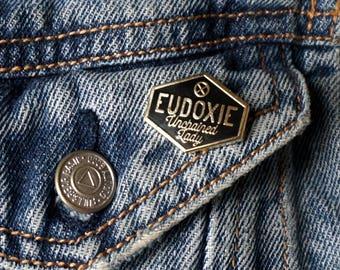 Pin's Eudoxie / Noir-Or / EUDOXIE Motorcycle Gear