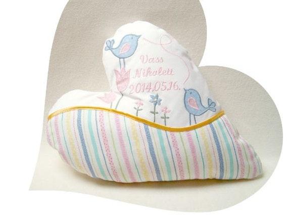Birth Announcement Pillows, Custom Quote Pillow