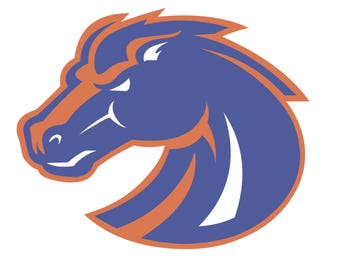 Boise State Bronco Decal Sticker