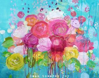 lean towards joy, trust your intuition, align with your soul, lotus wall art, lotus flower decor, yoga wall art, yoga artwork, yoga art