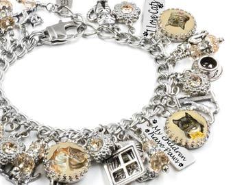 Cat Jewelry, Custom Cat Photo, Personalized Cat Jewelry, Cat Photo Jewelry, Personalized Cat Bracelet, Personalized Pet Photo