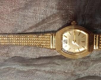 Vintage Elgin Watch Gold Electroplated