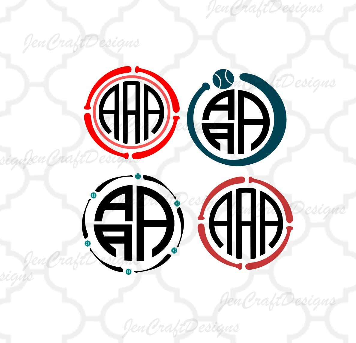 Baseball Svg Softball SVG baseball Bat Monogram Frame SVG, Dxf, Eps ...