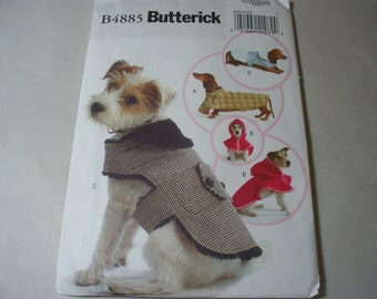 New Butterick, Dog Outfit  Pattern, B4885  (Free US Shipping)
