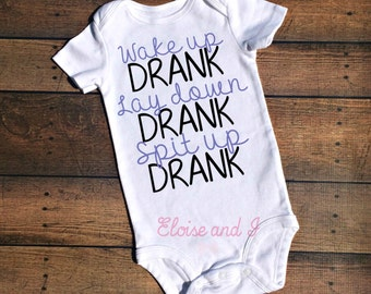 baby girl boy take home outfit, drank, toddler outfit, cute baby clothes, newborn outfit, baby shower gift, new baby outfit, funny baby