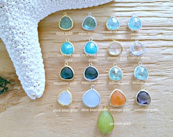 ADD ON- Glass Gemstones, Glass Stones,Add On Extra Glass Gemstone, letitbelove gemstones
