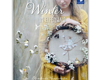 "acufactum book ""Winter im Elfenland"" cross-stitch knitting quilting projects"
