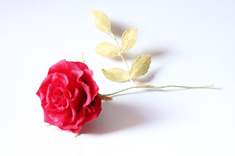 big paper rose 3 pcs wedding flowers crepe paper flowers big