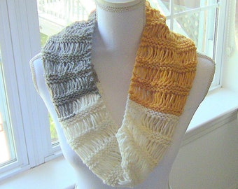 Gift For Her, Womens Cowl, Knitted Cowl, Teen Girls Cowl, Cowl, Trendy Cowl, Trendy Knit Cowl