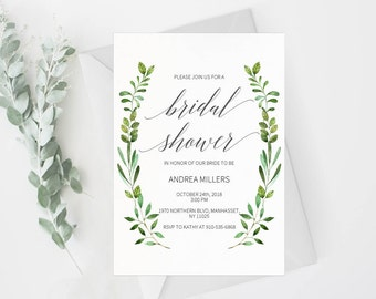 Couples Shower Invitation Template Printable Wedding Shower - Bridal shower invitation template
