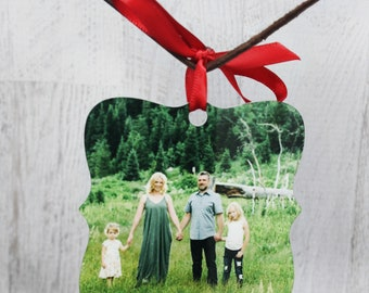 Photo Ornament, Custom Ornament, Christmas Decoration, Merry Christmas Christmas Ornament, Photograph Ornament, Personalized Christmas