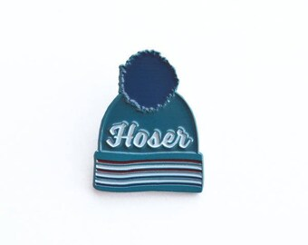 Hoser Tuque Pin