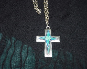 CROSS - Silver and Turquoise/Green Color CROSS - For The Man In Your Life