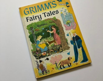 1955 Grimms Fairy Tales Book