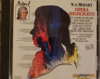 "W.A. Mozart ""Opera Highlights"" CD"