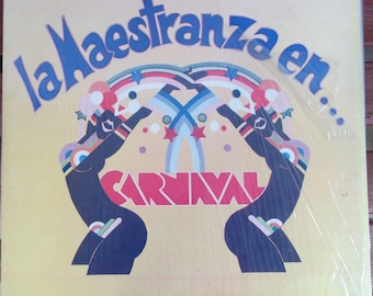 La Maestranza en Carnaval, Discos Fuentes Label, Vintage Record Album, Vinyl LP, Latin Dance Music, Rio Brazil, Carnival, Salsa, Merengue