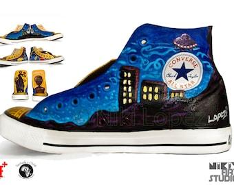 Custom Painted Converse Sneakers