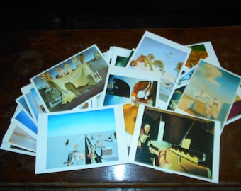 Salvidor Dali Museum Postcards, Collected Lot of 43