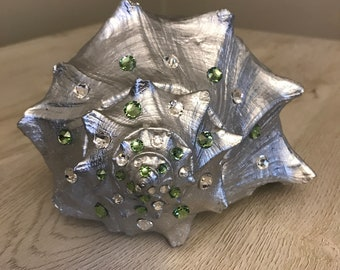 Green bling shell