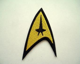 Star Trek TOS Command Emblem Embroidered Patch,Enterprise,badge,Federation, New for jacket, hat, vest