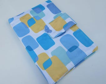 Nappy Wallet - Blue Squares