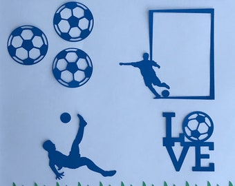 Soccer Scrapbooking Kit