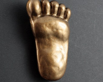 Bigfoot Fridge Magnet - Bronze
