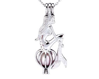 Mermaid Pearl Cage (PEARL NOT INCLUDED )