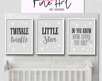 Nursery wall prints (SET OF 3)